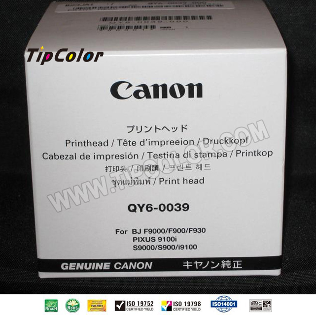 S900 S9000 Nozzle Printhead QY6-0039 Print Head for CANON i9100