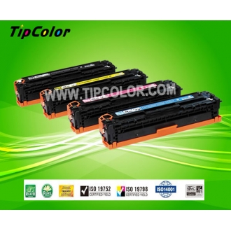 HP CB540A compatible color toner cartridge